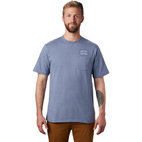 Mountain Hardwear Marrow Camiseta Manga Corta Hombre, light zinc